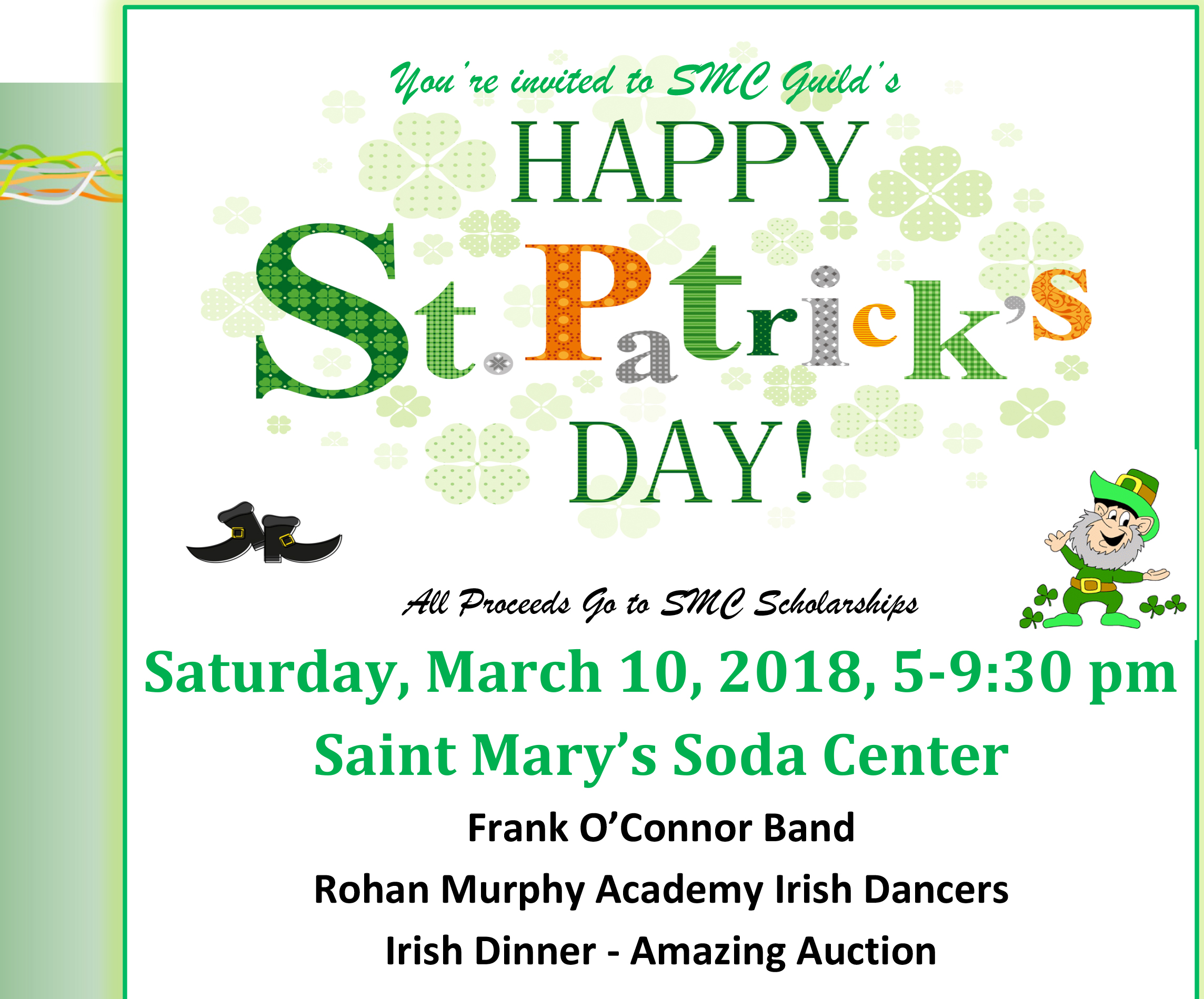 St. Patrick's Day Luncheon