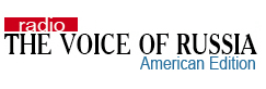 Voice of Russia American Edition logo