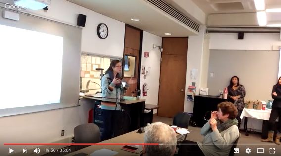 """video of workshop, """"Lessons Learned"""""""
