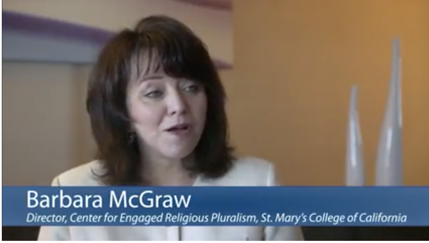 Barbara McGraw was interviewed by Mara Willard about her work on religious diversity and governmental agencies.