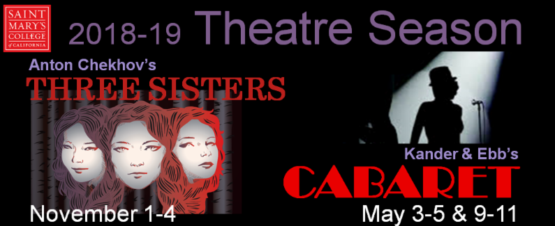 2018-2019 season theatre 3 Sisters and Cabaret