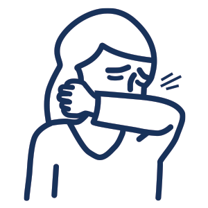 cough and sneeze icon