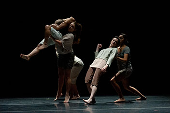 The Saint Mary's Dance Company in A Movable Feast - 2012