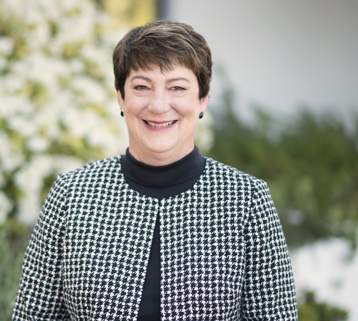 Susan Collins, vice president for finance and administration at Saint Mary's College of California.