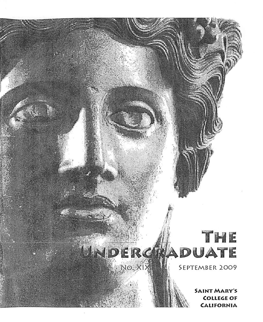 The Undergraduate 2009 Cover
