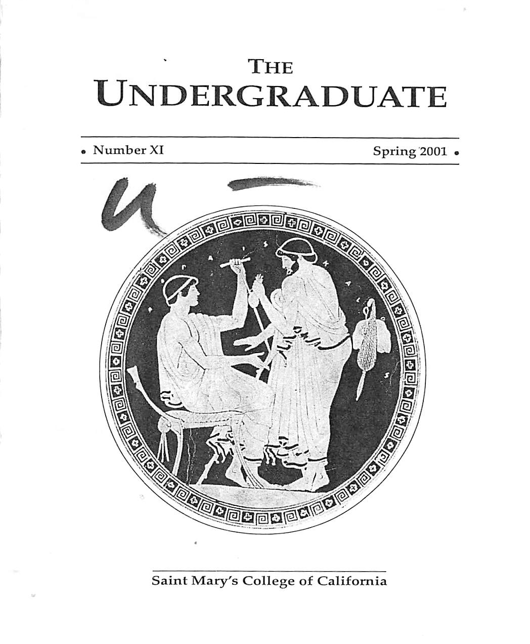 The Undergraduate 2001 Cover