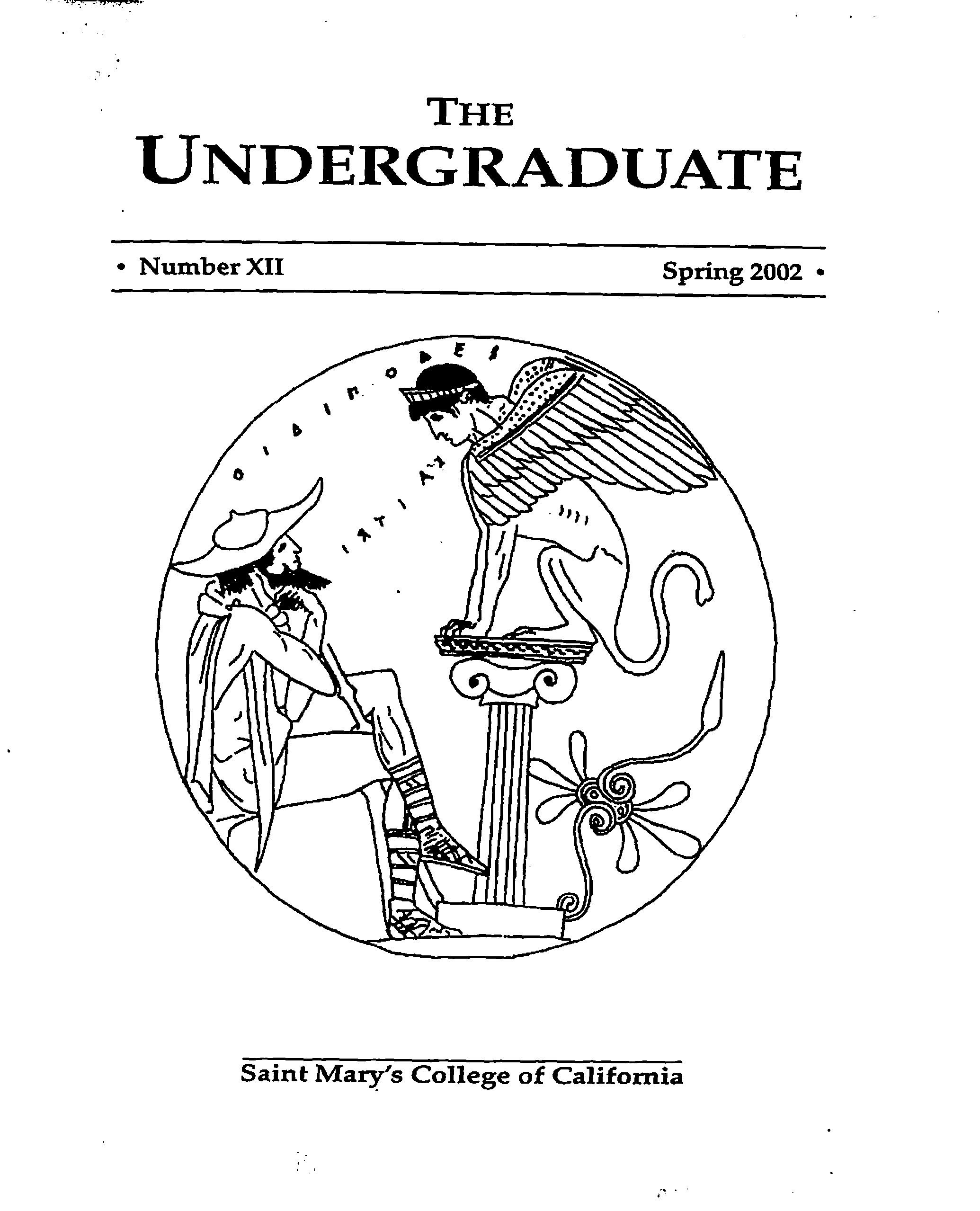 The Undergraduate 2002 Cover