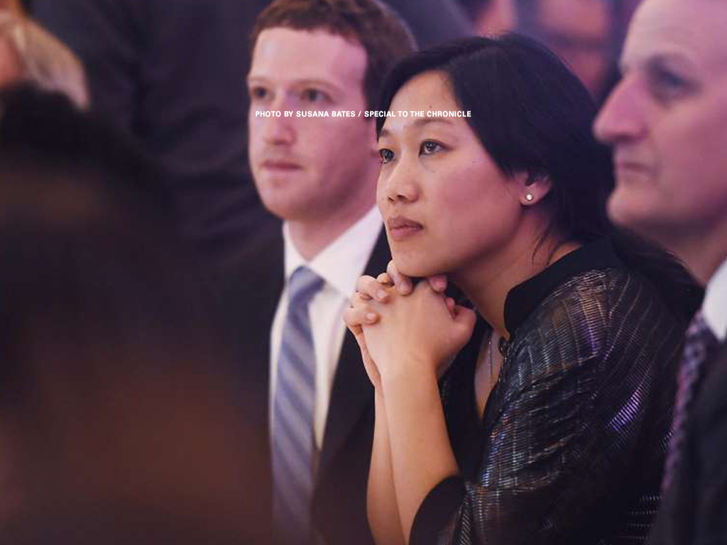 Priscilla Chan wins honor at our third annual ceremony.