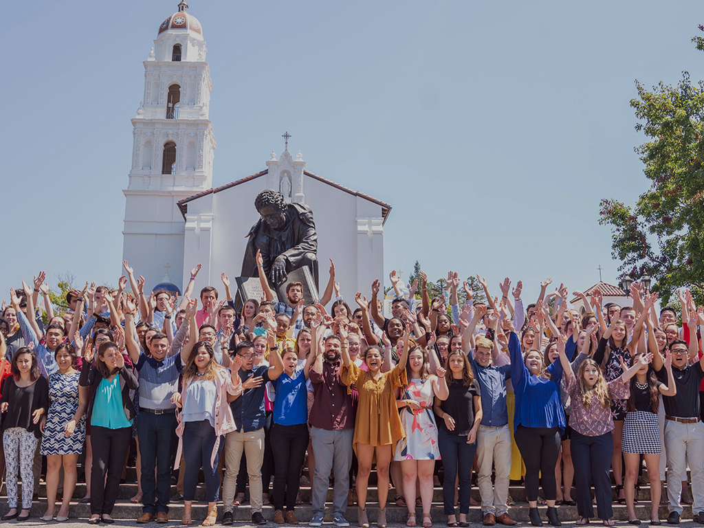 Weekend of Welcome leaders and resident advisors get ready for the newest Gaels.