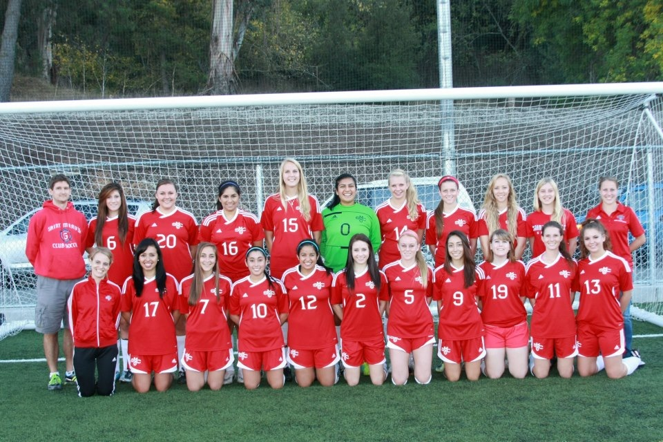 Women's Club Soccer 2012-2013 Team