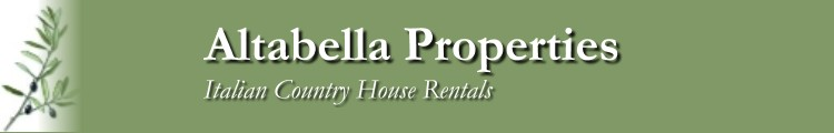 Donor Katharine Michaels of ALTABELLA Italian Properties has donated a weeklong vacation in a Tuscan Villa