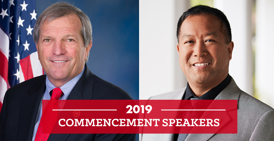 2019 commencement speakers