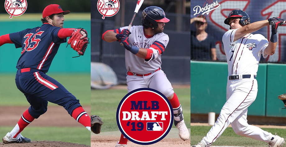 3 players selected for draft