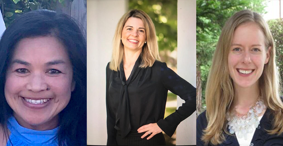Three presenters from health and wellness