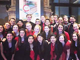 [When the Saint Mary's choirs were on tour last July in Riga, Latvia, where they won two gold medals at the World Choir Games, a New York concert producer invited them to perform at Carnegie Hall as part of a showcase of American choirs called Gotham Sings!]