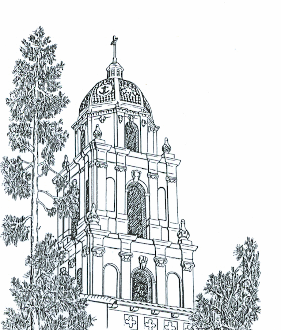chapel drawing