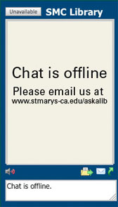 Library Chat is offline.