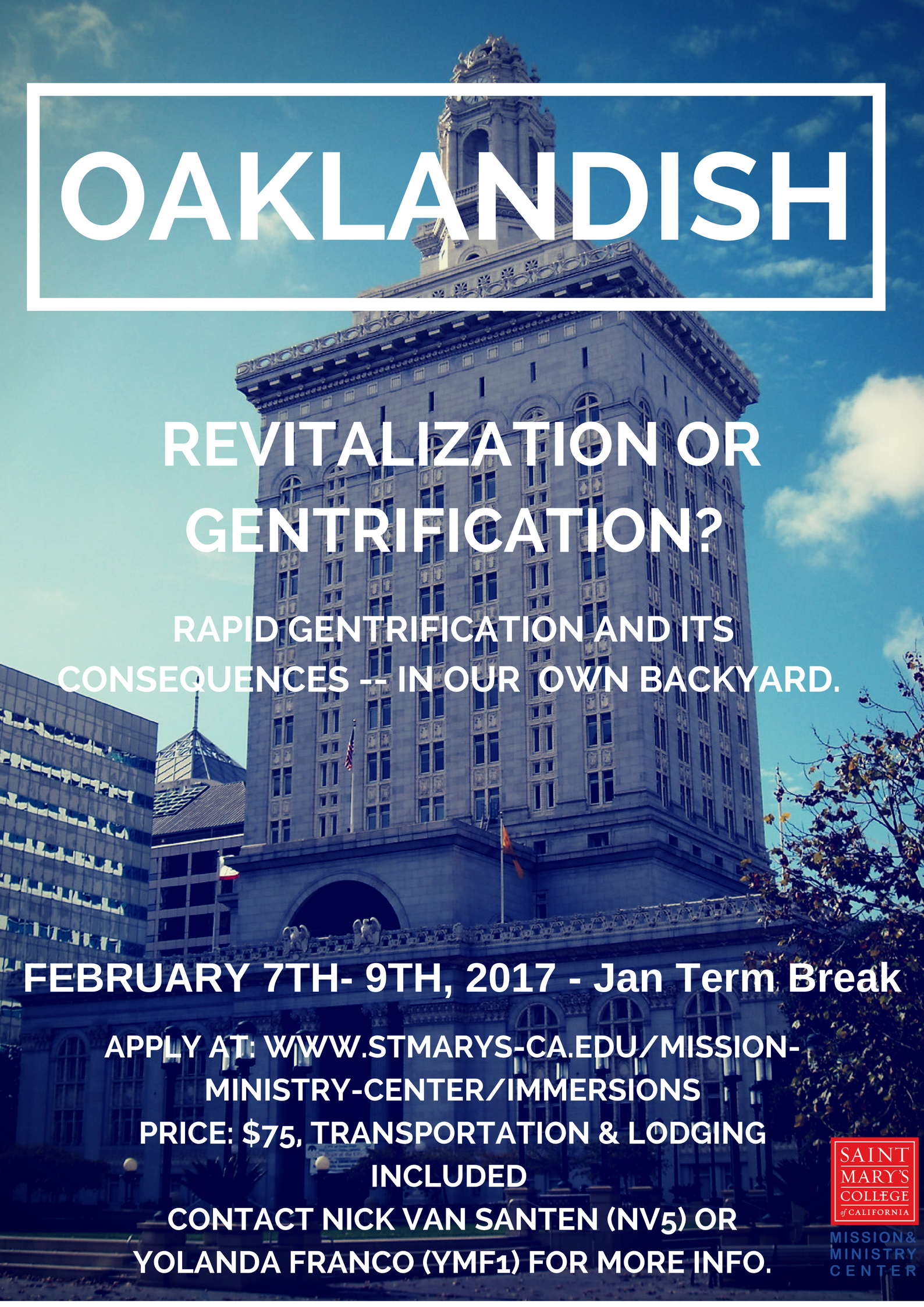 Oaklandish Immersion 2017