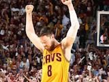 [Former Gael guard Matthew Dellavedova '13 may have surprised fans and followers of the NBA finals when he stepped up and played his heart out]