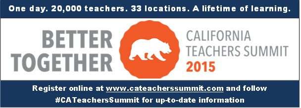 Teachers Summit banner