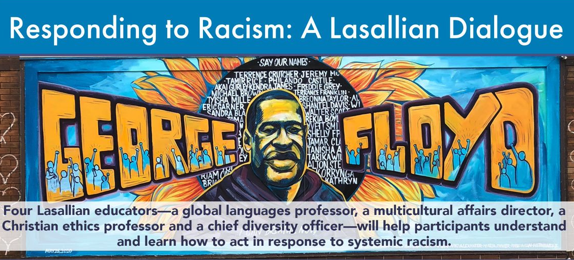 Responding to Racism: A Lasallian Dialogue, Livestream on Thurs., June 25
