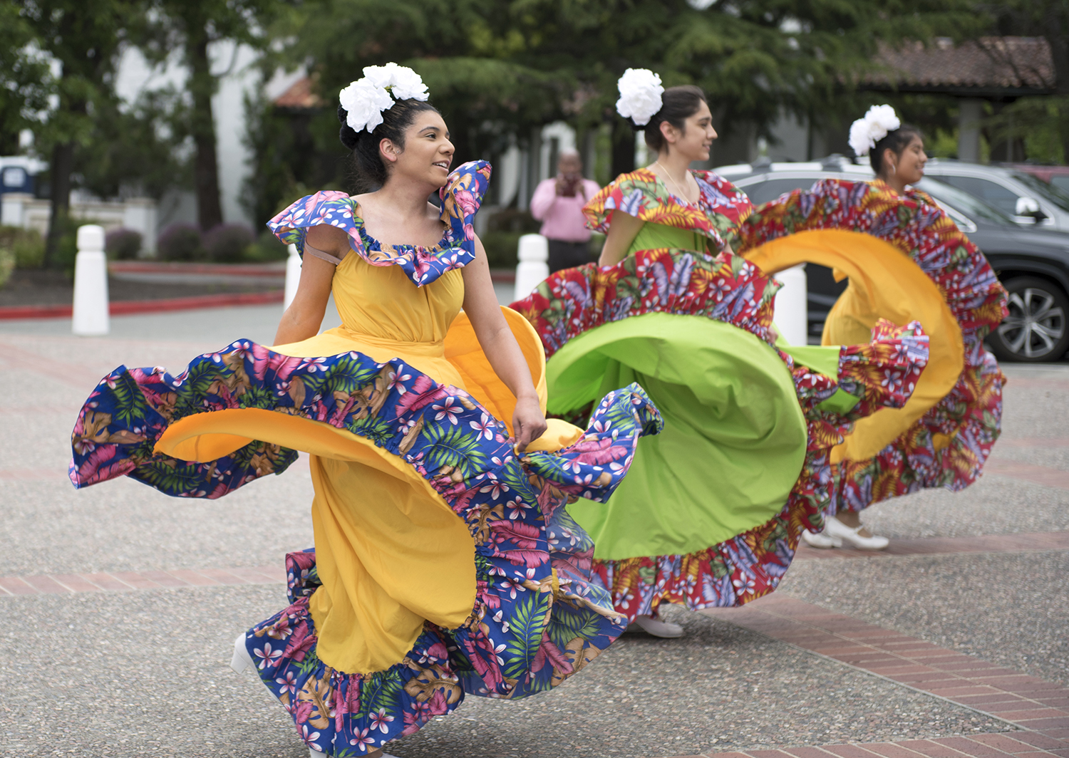 Students perform at the Latinx Graduation Celebration in 2019