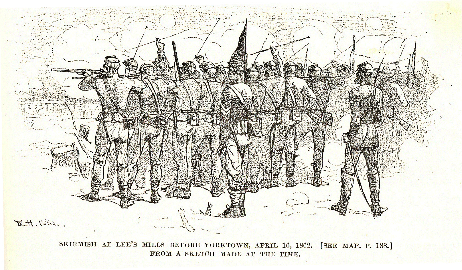 Lee's Mills skirmish