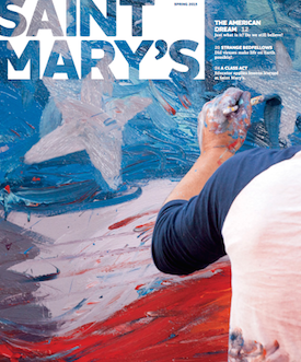Spring 2015 Saint Mary's magazine