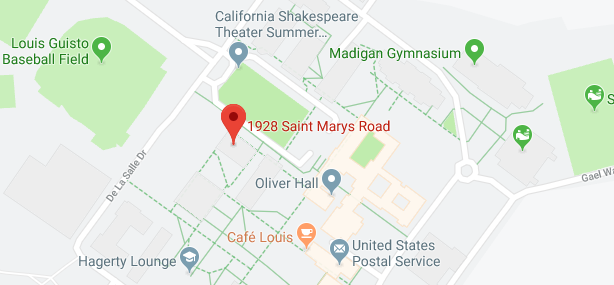 A map that shows the location of 1928 Saint Marys Road