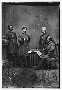 General George McClellan and staff