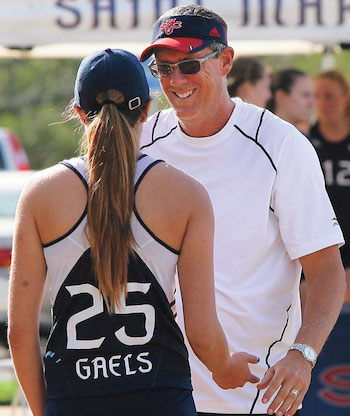 Sand volleyball head coach Mike Dodd won 75 titles in his 18-year career and the silver medal in the first Olympics to feature the sport.