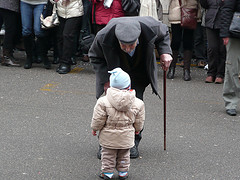 Old and Young, photo by ezioman, Creative Commons