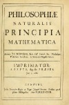 Principia Mathematica by Newton