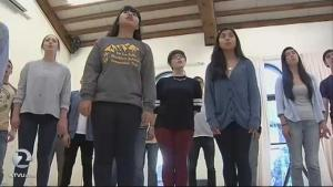 KTVU-TV reported on SMC's choir heading to Carnegie Hall to perform on April 18, 2015.