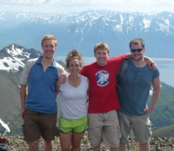Former fellow Julie Cozzetto '13 in Alaska.