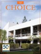 Choice magazine's Aug. 2014 cover photo of Saint Mary's Library