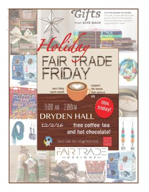 Fair Trade Holiday Fair