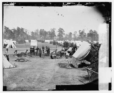 General McClellan's headquarters at Yorktown