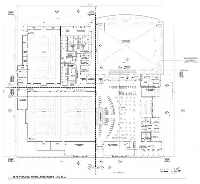 Rec Center Floorplan
