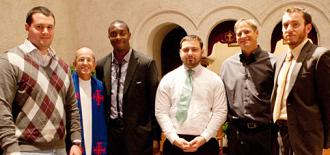 SMC Student Veterans in College Chapel