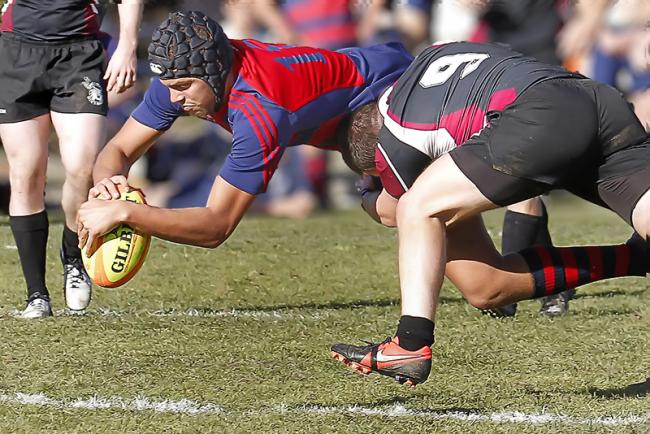 Saint Mary's Rugby vs. Chico State on January 19th, 2013.