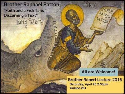 4/25/15 Br. Robert Lecture