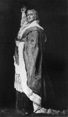 Edwin Booth as Richelieu