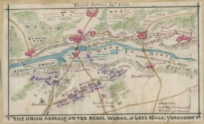 Map of Lee's Mills