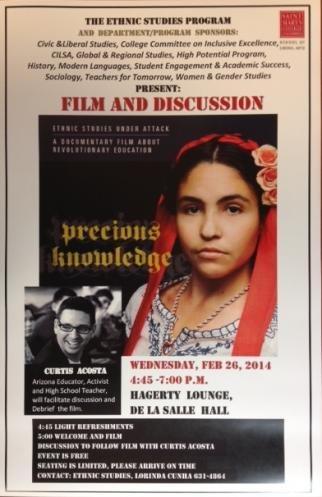 Precious Knowledge Film: Ethnic Studies Under Attack