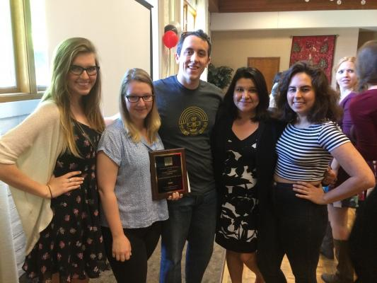 Student Organization of the Year 2014