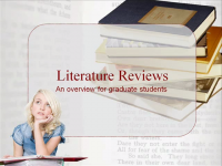 Literature Reviews: An Overview for Graduate Students [NCSU Libraries]