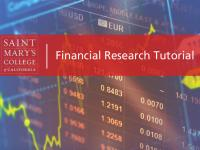 Financial Research Tutorial