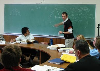 Br. Donald & Sophomore Math Tutorial