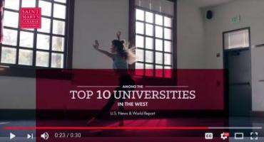 Saint Mary's new institutional 30 second commercial